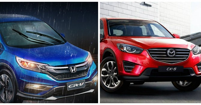 """Honda CR-V ra mắt phiên bản cao cấp, """"so găng"""" với Mazda CX-5?"""
