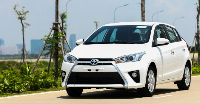 Toyota Yaris sản xuất tại Trung quốc khác gì tại Việt Nam?