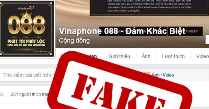 Giả danh nhà mạng VinaPhone, lừa đảo ưu đãi thẻ nạp và đấu giá sim