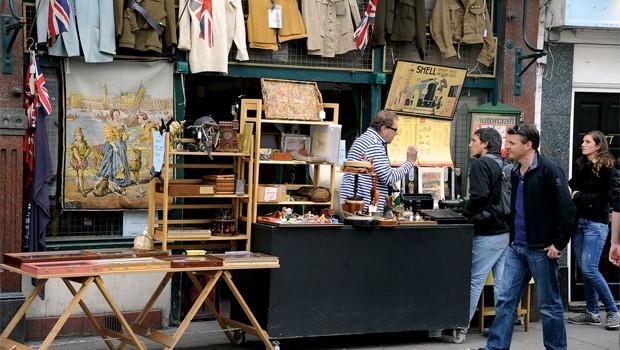 London: Chợ phiên đông vui, đi và... ghiền