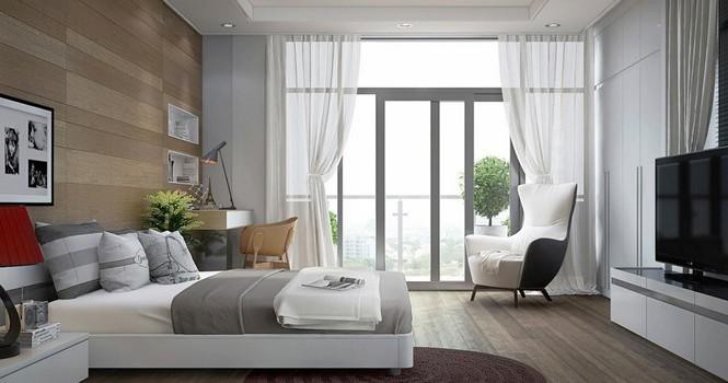 Đặt giường ngủ đúng phong thủy, giúp cả nhà an nhiên