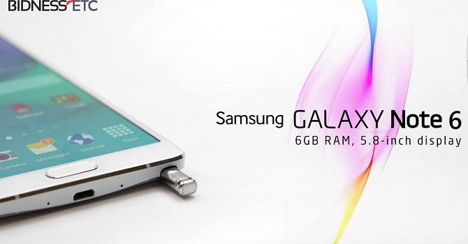 Lộ cấu hình Galaxy Note 6 qua ứng dụng CPU-Z