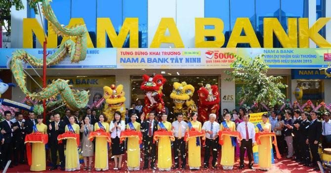 Tưng bừng khai trương Nam A Bank Tây Ninh