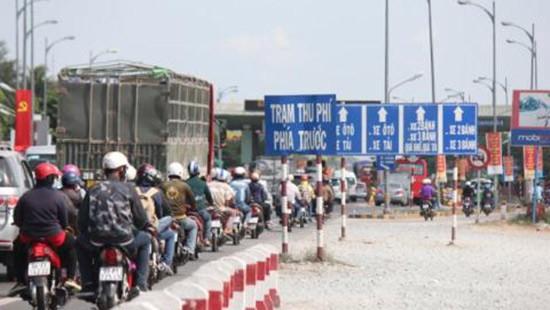 Dừng thu phí nếu để xảy ra ùn tắc kéo dài trên 1km tại trạm phí
