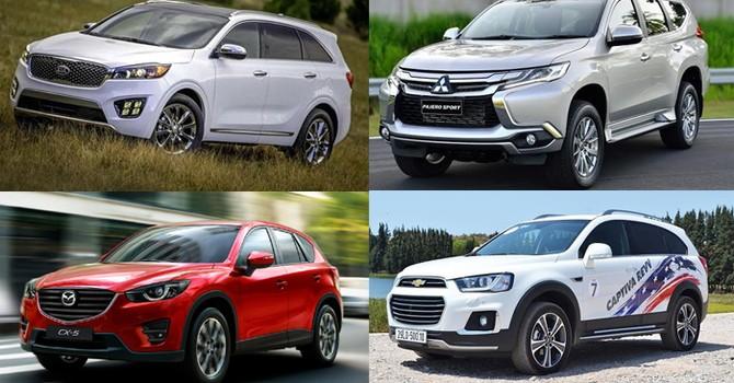 Chơi SUV: Chọn ô tô 1 tỷ, thuế rẻ