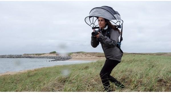 Làm giàu nhờ thiết kế ô che mưa