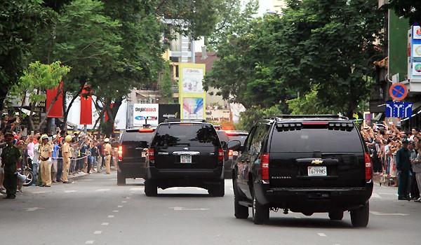 Tổng thống Obama đến Sài Gòn