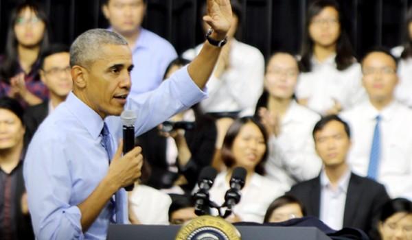 """Ông Obama: """"Khi còn trẻ tôi cũng rất ham chơi"""""""