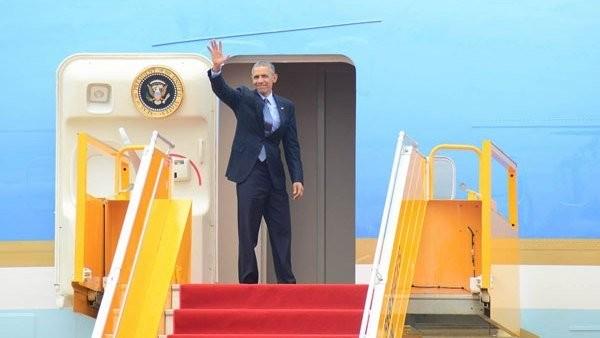 Tổng thống Obama nói gì trước khi rời Việt Nam?