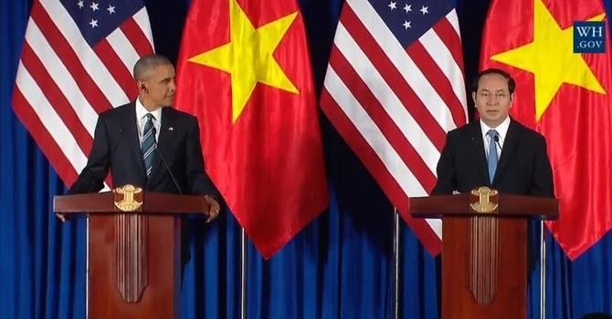 Ngày bận rộn của Chủ tịch nước đón Tổng thống Obama