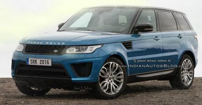 Lộ hình ảnh bản nâng cấp Range Rover Sport 2017