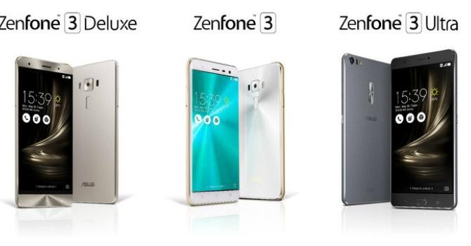 Asus trình làng Zenfone 3 Ultra: Màn hình đại, pin siêu trâu