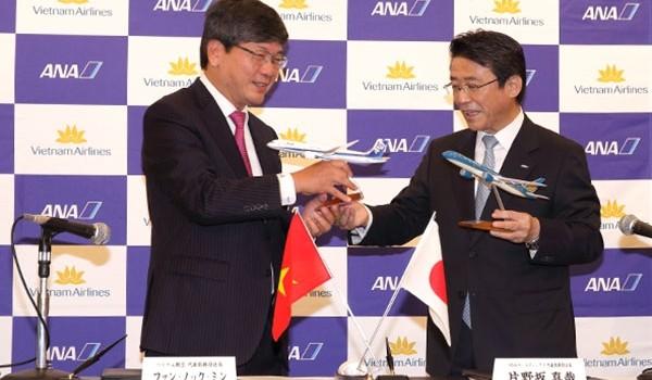 Ai hưởng lợi khi Vietnam Airlines bắt tay ANA?