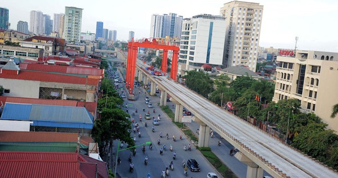 Đường sắt đô thị Hà Nội mạnh ai nấy làm