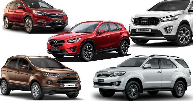 Đọ doanh số xe SUV hot nhất hiện nay trên thị trường?