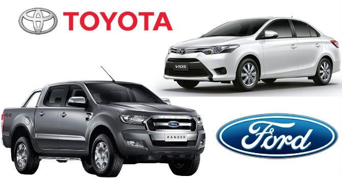 Ford Ranger vs Toyota Vios: Kì phùng địch thủ