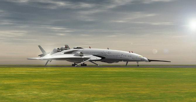 [Ảnh] Máy bay siêu vận tốc di chuyển từ Hà Nội đến BangKok chỉ mất khoảng 15 phút