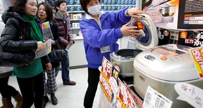 Mua hàng bằng vân tay ở Nhật Bản