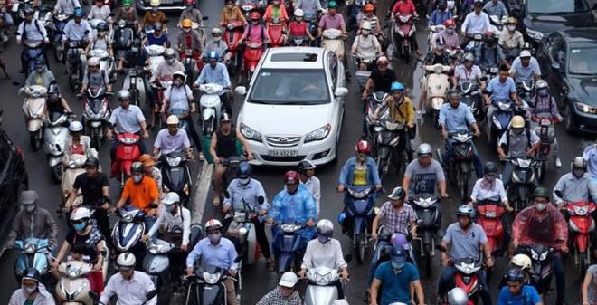 """Hà Nội sẽ cấm xe máy trong nội đô: """"Tôi cho đây là cái đột biến"""""""