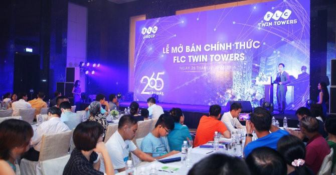 Mở bán tháp đôi FLC Twin Towers, 400 căn có chủ