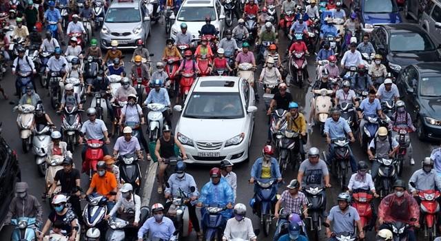 Viễn cảnh Hà Nội không xe máy: Tiền đâu?