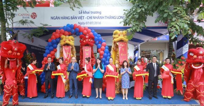 Viet Capital Bank khai trương hoạt động Chi nhánh Thăng Long