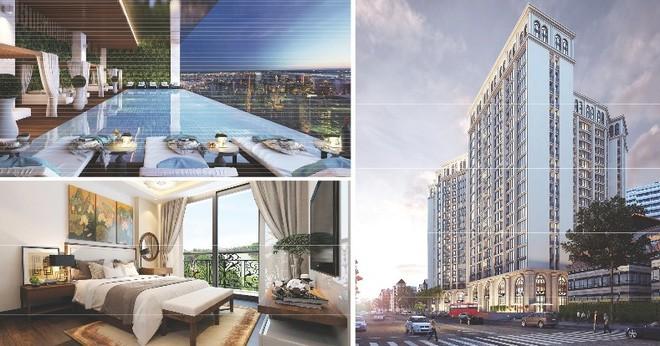 """""""Mạng nhện"""" sở hữu tháp đôi Tổ hợp khách sạn, căn hộ cao cấp lớn nhất tại trung tâm phố cổ Hà Nội"""