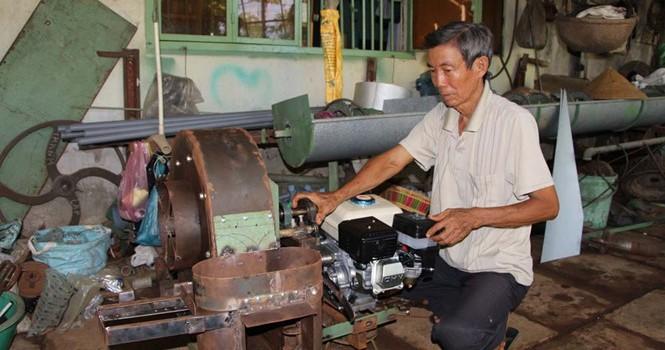 Tự tạo cơ hội: Kiếm tiền từ máy nông cụ