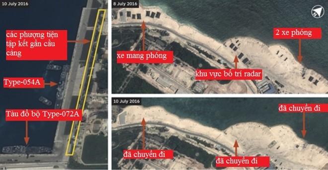 Trung Quốc có thể đang rút tên lửa HQ-9 khỏi đảo Phú Lâm