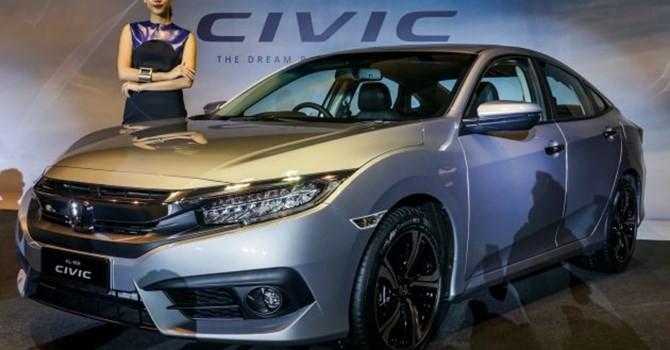 Trước khi về Việt Nam, Honda Civic 2016 có giá cao nhất tại thị trường nào?