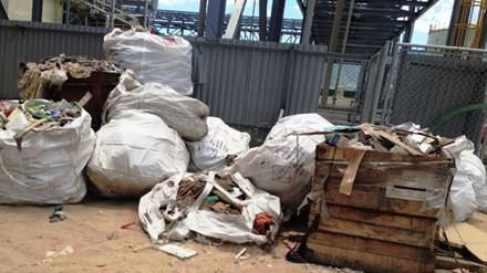 Bùn rác chất đống, cá chết trong Formosa