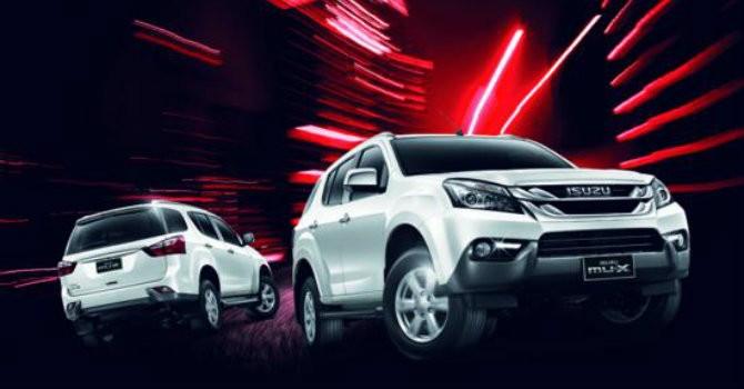 ISUZU mu-X ra mắt, liệu có đánh bại Fortuner của Toyota?