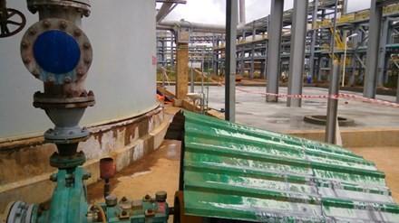 Mới nhất vụ vỡ ống chứa hóa chất tại nhà máy alumin Nhân Cơ