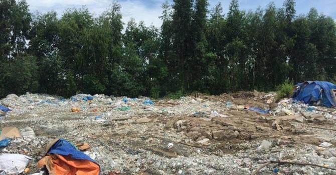 """Núi rác thải Y tế khổng lồ đã """"hô biến"""""""