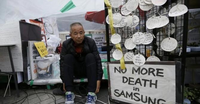 """Samsung bị tố dùng """"chiêu bài"""" giấu thông tin môi trường làm việc độc hại"""