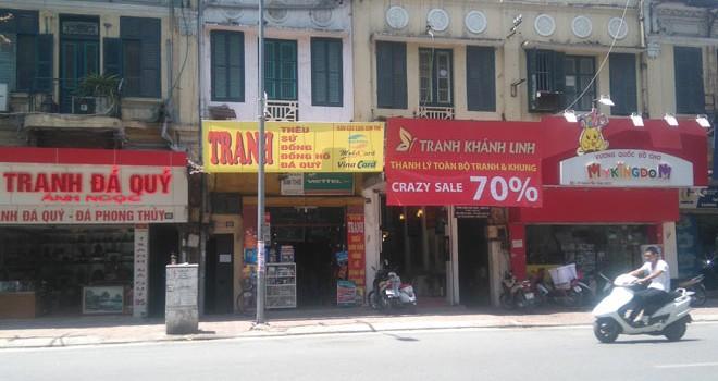 Thị trường tranh Việt: Những mảng màu sáng tối