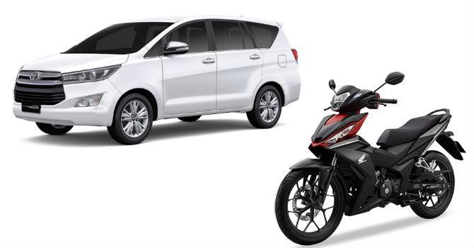 Toyota Innova, Honda Winner tại Indonesia rẻ hơn nhiều so với Việt Nam