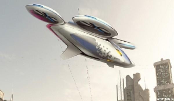 """Airbus bất ngờ công bố kế hoạch triển khai """"taxi bay"""" vào năm sau"""