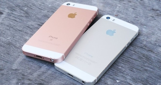 iPhone SE và iPhone 5S - một dáng vẻ hai số phận