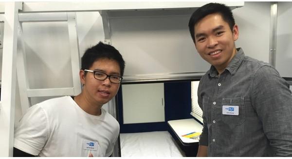"""2 anh em gốc Việt kiếm bộn nhờ ý tưởng """"bán giấc ngủ trưa"""" cho dân Mỹ"""