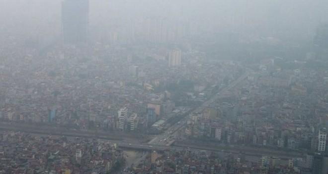 Ô nhiễm không khí tại Hà Nội dựa trên chỉ số của bụi mịn