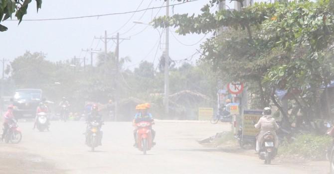 Báo động không khí ô nhiễm tại TP.HCM
