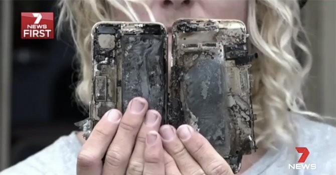 Số 7 đem lại vận xui cho các hãng điện thoại khi iPhone 7 tiếp tục phát nổ
