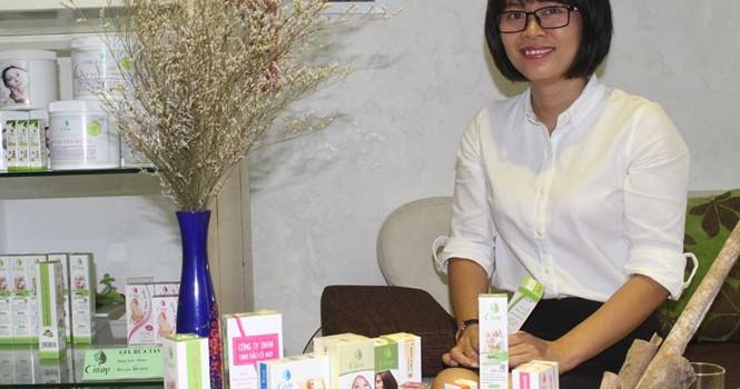 Tự tạo cơ hội: Cô gái tinh dầu