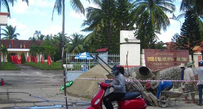 Đại học Phan Chu Trinh bị thu hồi mặt bằng