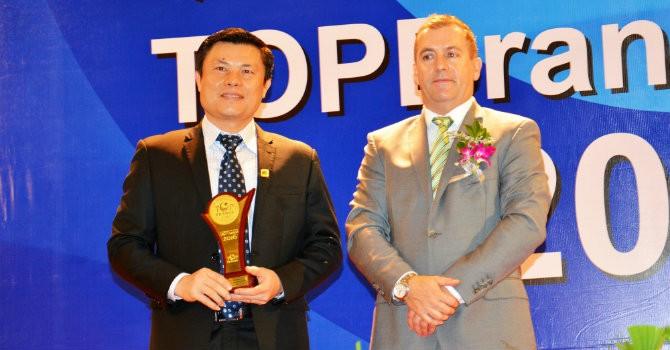 Nam A Bank liên tiếp nhận 2 giải thưởng quốc tế