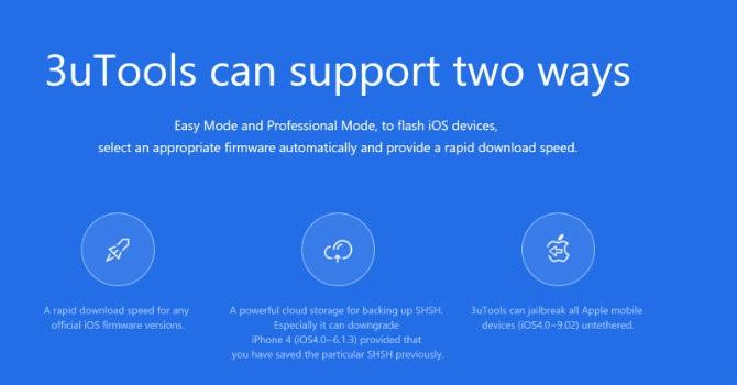 [Ứng dụng cuối tuần] 3uTools - công cụ thay thế iTools cho các thiết bị của Apple