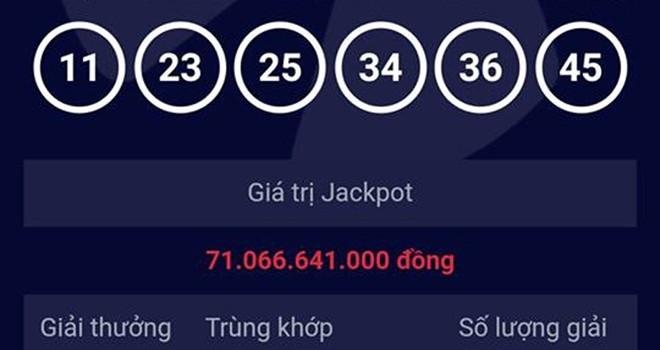 Vé trúng giải 71 tỷ được phát hành ở quận 5, TP.HCM
