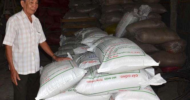 Tự tạo cơ hội: Làm giàu từ lúa giống