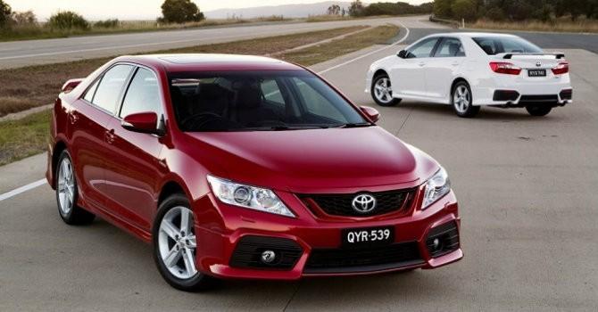 Toyota Camry sắp ra mắt phiên bản 2017?
